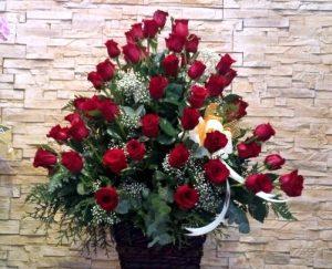centro de flores funerarios