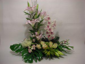 Ikebana flores El jardín de la abuela