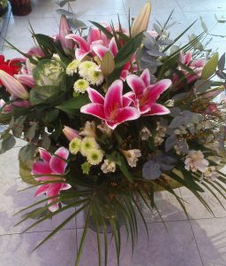 Flores El jardín de la abuela, floristería Madrid arguelles, comprar flores Madrid Centro